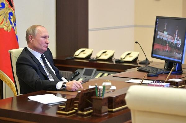 Владимир Путин пообщался с участниками ярославского форума«ПроеКториЯ» в формате телемоста
