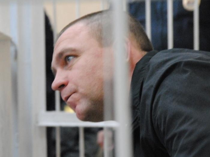Алексей Мозго во время оглашения приговора в 2014 году