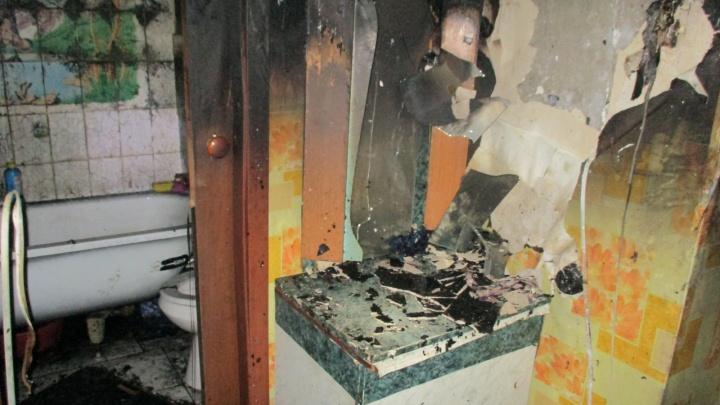 Ростовчанка не спасла своего ребёнка из пожара. Против неё возбудили уголовное дело