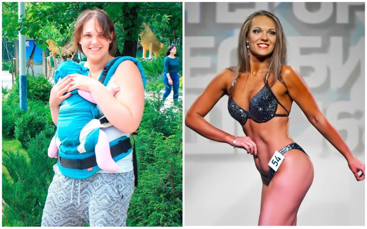 «Казалось, все будут тыкать в меня пальцем»: мама двоих детей похудела на 30 кг и стала тренером