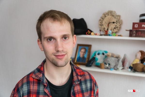Влад Кричфалуший —шестикратный чемпион мира по паратхэквондо