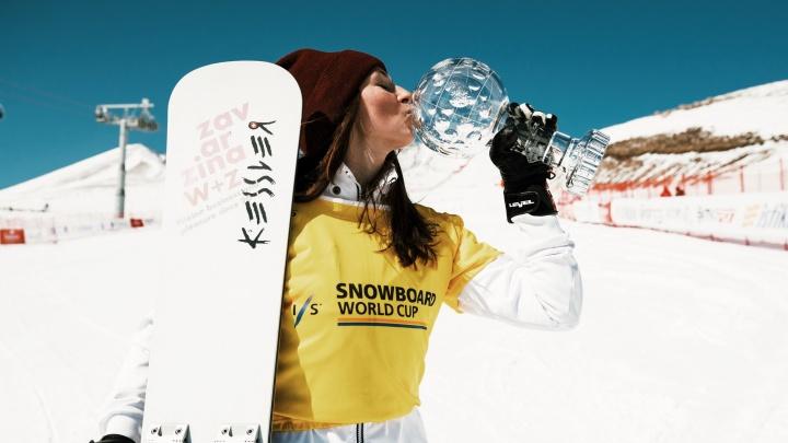 Новосибирская сноубордистка уехала учиться в Лондон