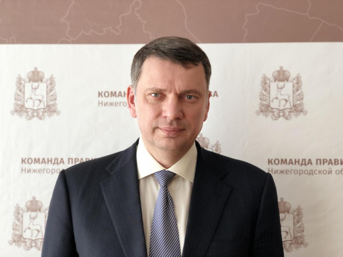 Министр соцполитики Нижегородской области Алексей Исаев