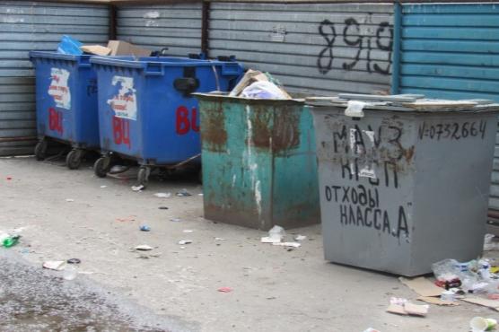 В Кургане закуплены новые контейнеры и машины для перевозки отходов
