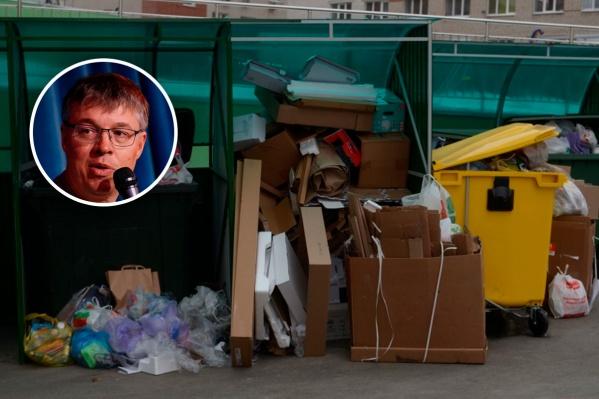 Илья Борзенков уверен, что население нужно как можно шире вовлекать в решение мусорного вопроса
