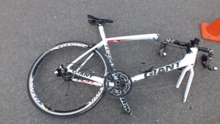 На шоссе Тюнина в Кургане сбили велосипедиста