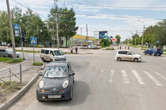 Смертельная авария произошла в Кировском районе — на перекрёстке Оловозаводской и Тюменской
