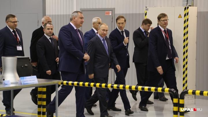 В Башкирии готовятся к визиту Владимира Путина