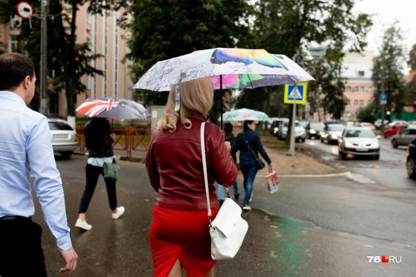 Сегодня дожди немного охладят Ярославль, но ненадолго