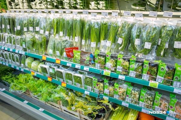 В зелени производителей из Красноярского края и Новосибирской области эксперты не нашли пестицидов и нитратов