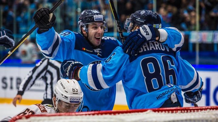 «Сибирь» прервала серию поражений, победив хабаровский «Амур»