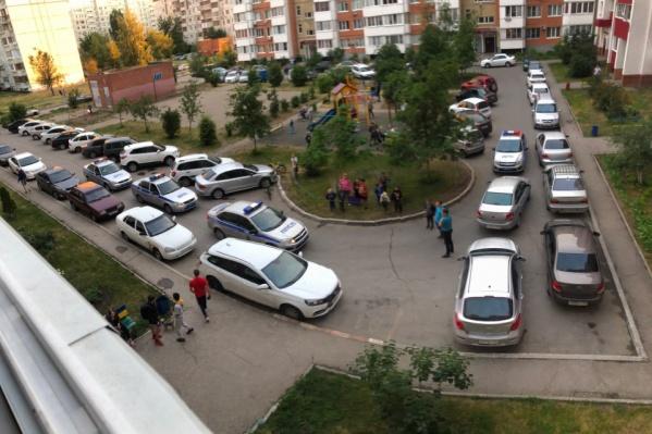 Преступление произошло во дворе дома, где жил Илья Тягун