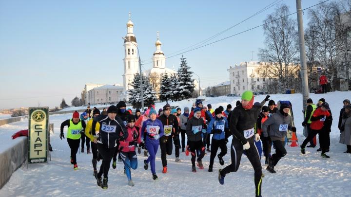 Часть центральных улиц Архангельска закроют для проезда из-за массового забега в это воскресенье
