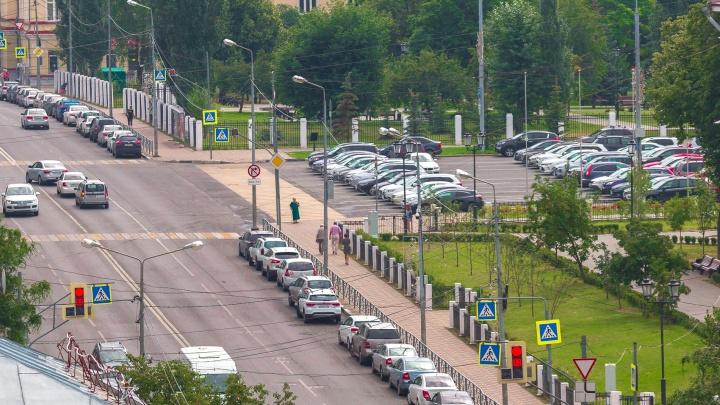 В Самаре опять перенесли сроки обустройства платных парковок