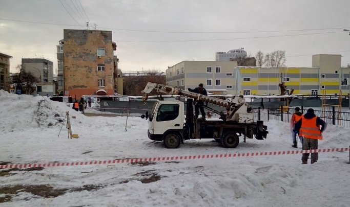 На месте скандальной стройки на Советской решили разбить сквер Хранителей Новосибирска