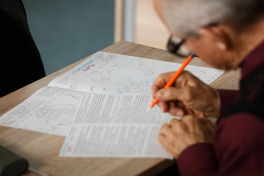Белорусы приняли участие вакции «Географический диктант»
