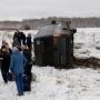 Двоих увезла скорая: что известно о пострадавших в ДТП с перевернувшимся автобусом под Челябинском