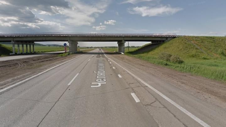 Мост на Челябинском тракте, который ремонтировали месяц, откроют на неделю позже срока