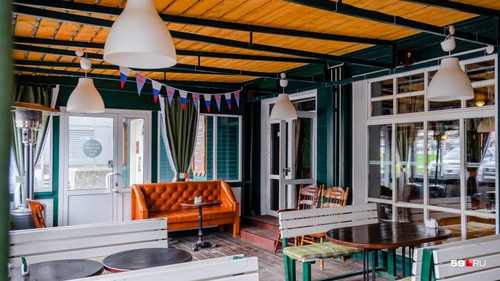 Где в Перми можно поесть на свежем воздухе. Обзор летних веранд при ресторанах и кафе. Часть 3