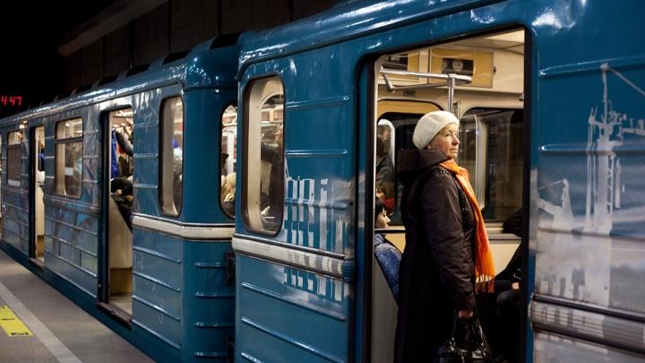 На станции метро «Студенческая»встал поезд: пассажирка упала на рельсы