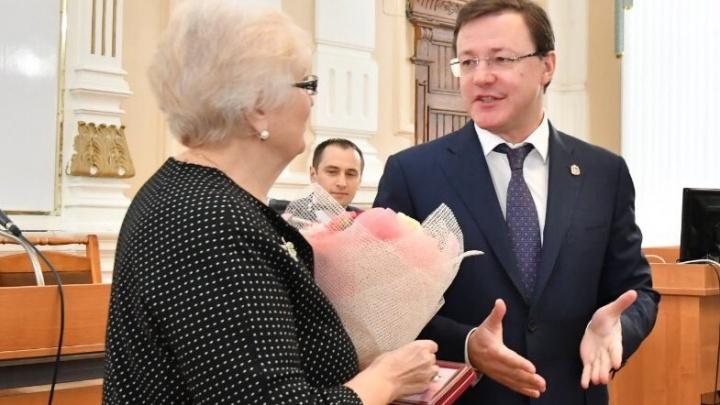 Председателя Самарского областного суда Любовь Дроздову наградилиза заслуги
