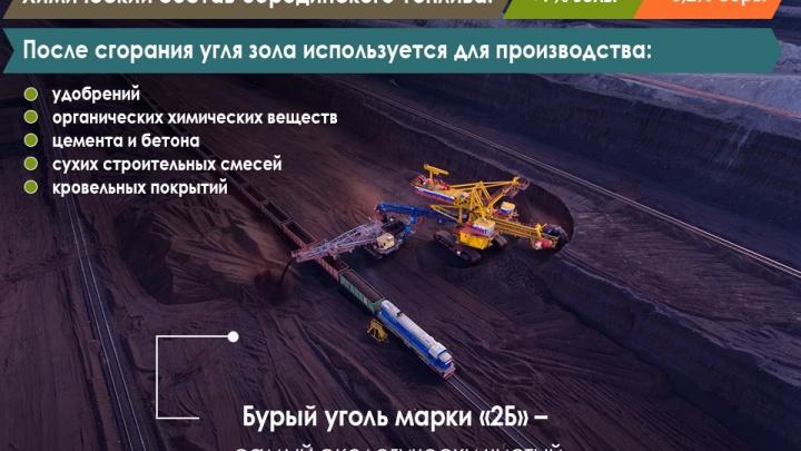 Повод для гордости: бородинский уголь уникален — это экологически чистое топливо будущего