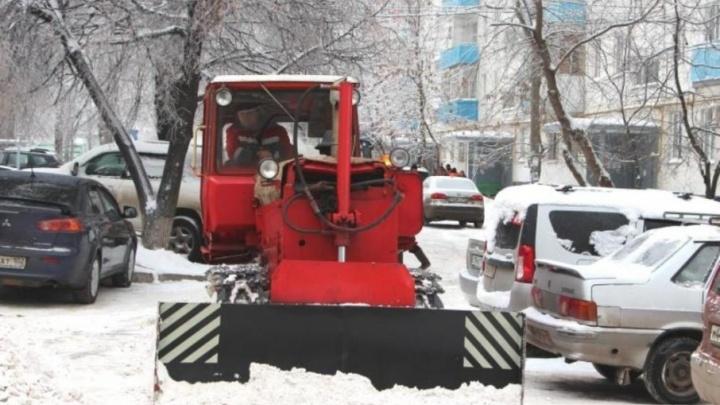 График уборки на 30 января: Уфу очистят от снега