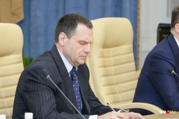 Андрей Ковтун ушел с поста министра чуть меньше года назад