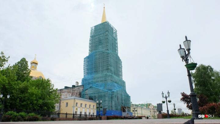 Из краевого бюджета на ремонт кафедрального собора в Перми выделят 57 миллионов рублей