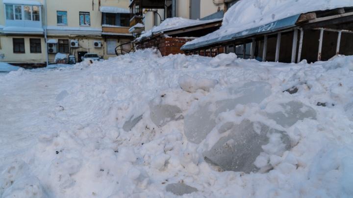 УК и ТСЖ Перми получат талоны на бесплатный вывоз снега из дворов