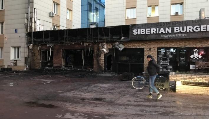 Дело о поджоге «Академии кофе» в Академгородке передалив суд