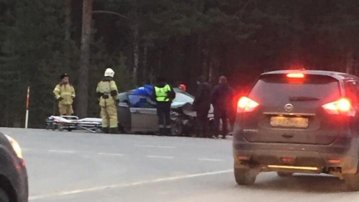 В утреннем ДТП на Ялуторовском тракте пострадали четыре человека