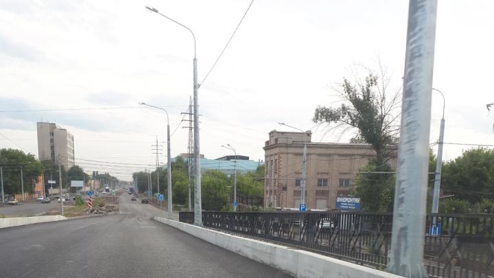 В Самаре открыли путепровод на Заводском шоссе после ремонта