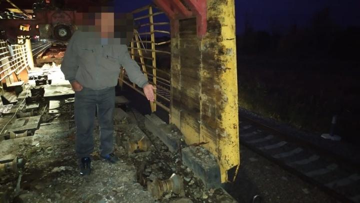 Рабочего убило на железнодорожном перегоне Тингута — Привольный под Волгоградом