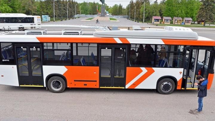 В Уфе презентовали новые троллейбусы