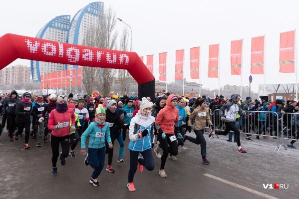Горожане пробежали два, пять или даже десять километров