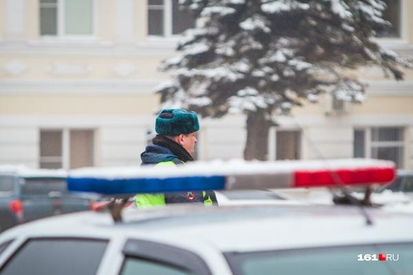 ГИБДД предупреждает о том, что на дорогах области ожидаются осадки в виде сильного снега