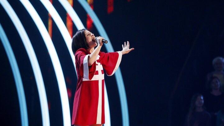 Участница новосибирской группы выступила в новом шоу на канале «Россия 1»