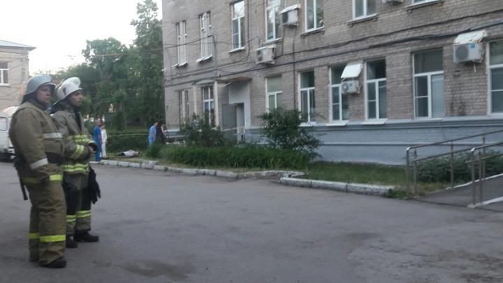 В Самаре по тревоге вывели людей из больницы имени Ерошевского