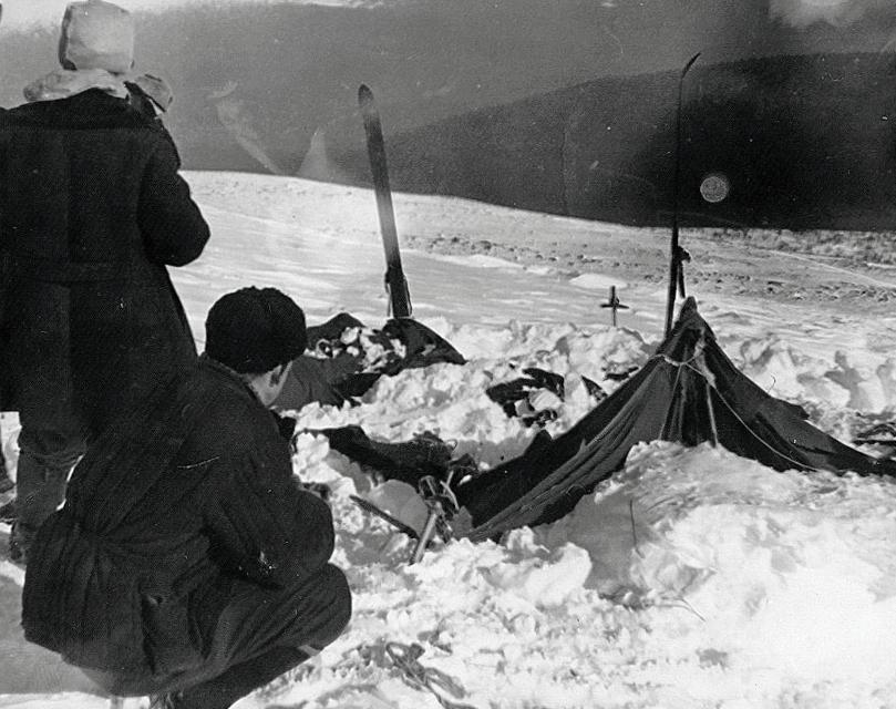 Палатка дятловцев