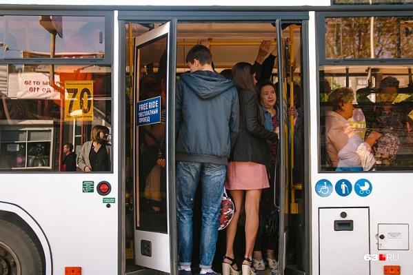 На оснащение автобусов кассовыми аппаратами потребуется время