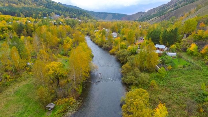 Краски осени: пока к Красноярску подбирается похолодание, любуемся живописными кадрами окрестностей