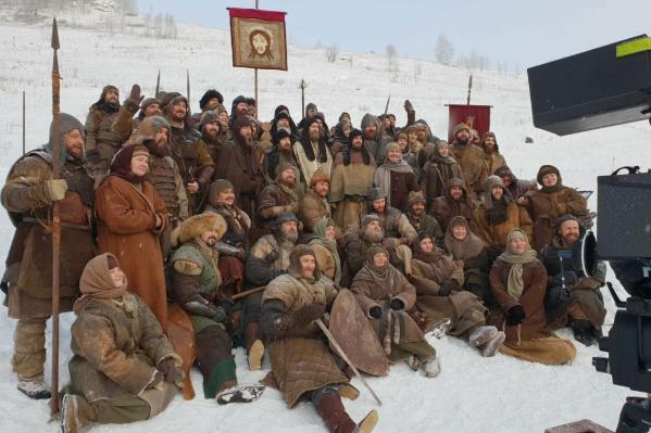 В массовых сценах в начале декабря участвовали около сотни жителей Прикамья, все они планируют общаться и дальше