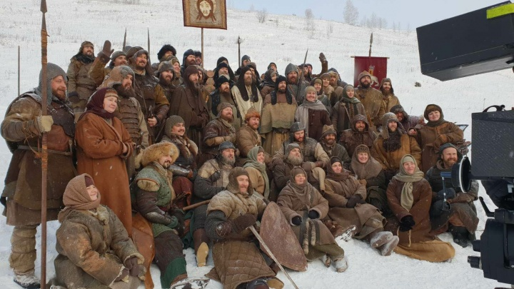 «Смотрели, как сжигают идолов, и бегали босиком по снегу»: в Прикамье вновь снимают «Сердце Пармы»