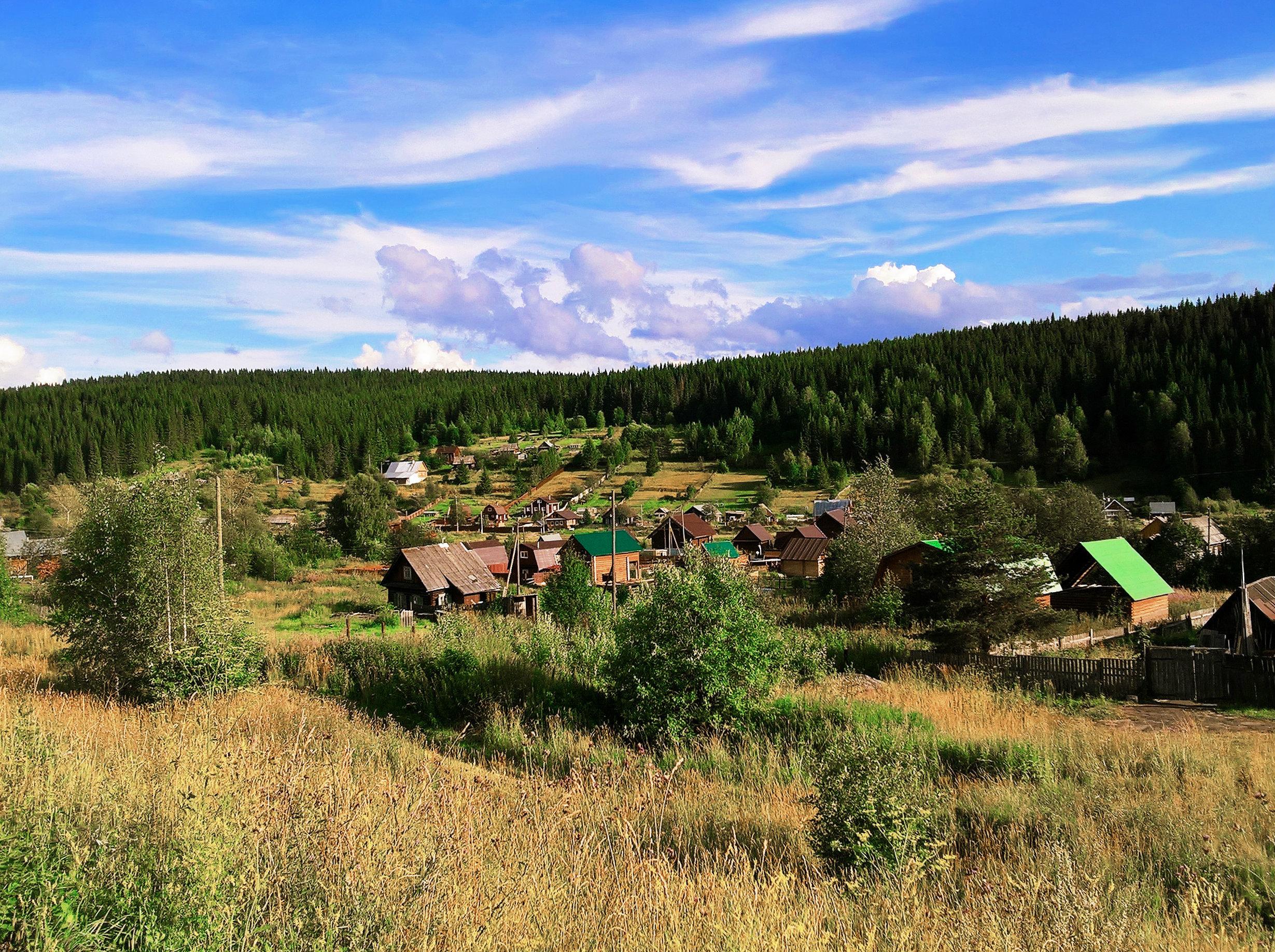 Усьва — очень приветливый и уютный поселок