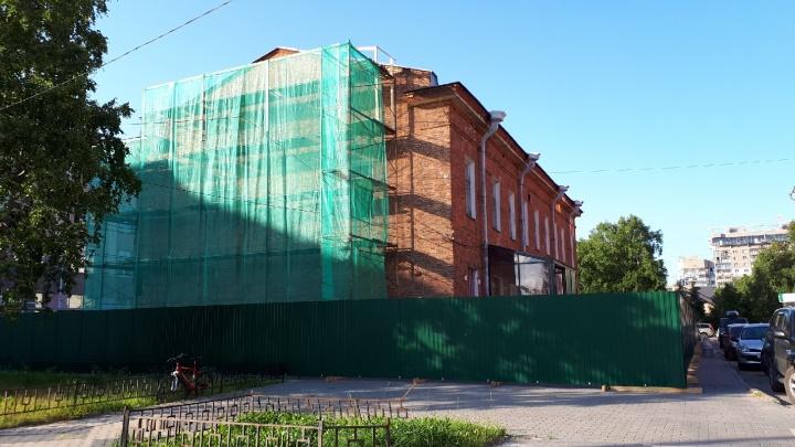 Укрепили фундамент, восстанавливают фасад: ремонт музея Писахова в Архангельске закончат в 2020 году