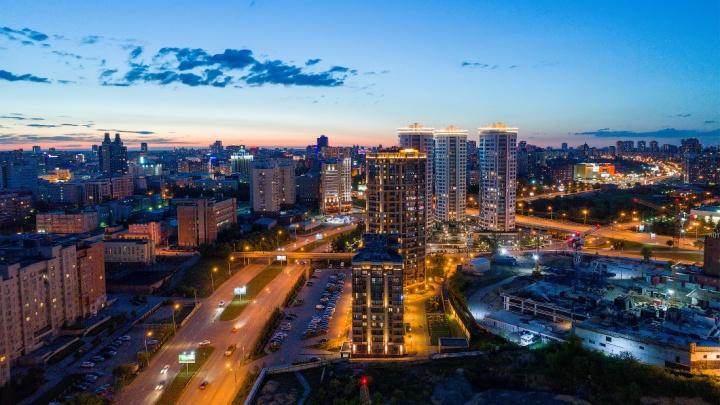 В центре строят ЖК— рядом метро, квартиры с видом на реку, оживленный город или спокойный парк