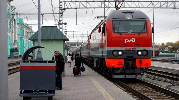 В декабре из Омска поедут прямые поезда до Владивостока