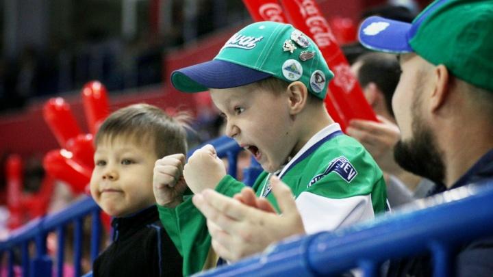 Болеем за победу наших хоккеистов в Уфе