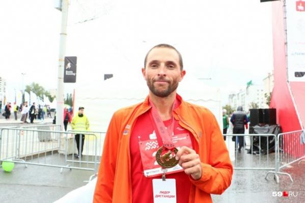 Юрий Чечун вышел на старт, но не добежал до финиша